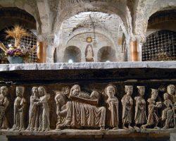 Arqueta de San Valero, ex catedral de San Vicente, Roda de Isábena- G.M. Archivo del Gobierno de Aragón