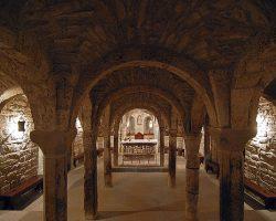 Cripta de la ex catedral de San Vicente, Roda de Isábena- G.M. Archivo del Gobierno de Aragón